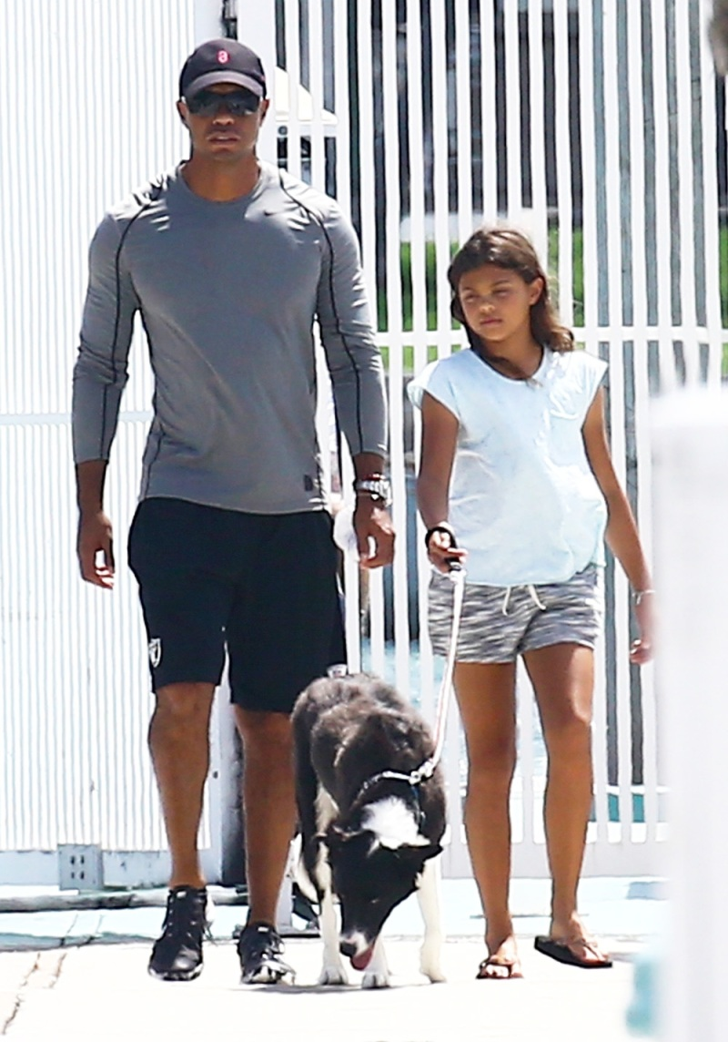 Tiger Woods and daughter Sam