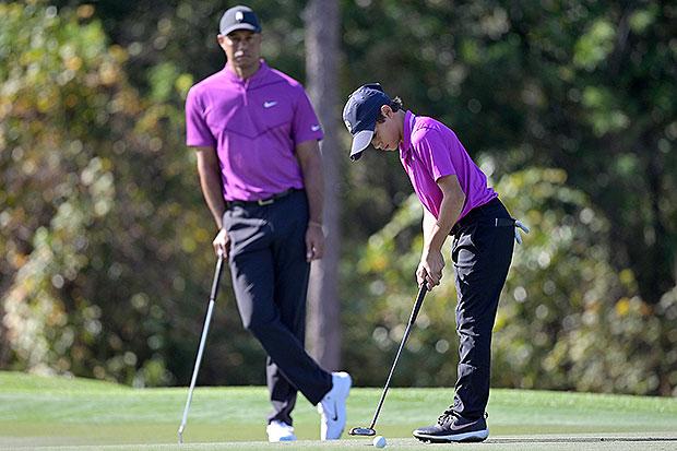 Tiger Woods & Charlie
