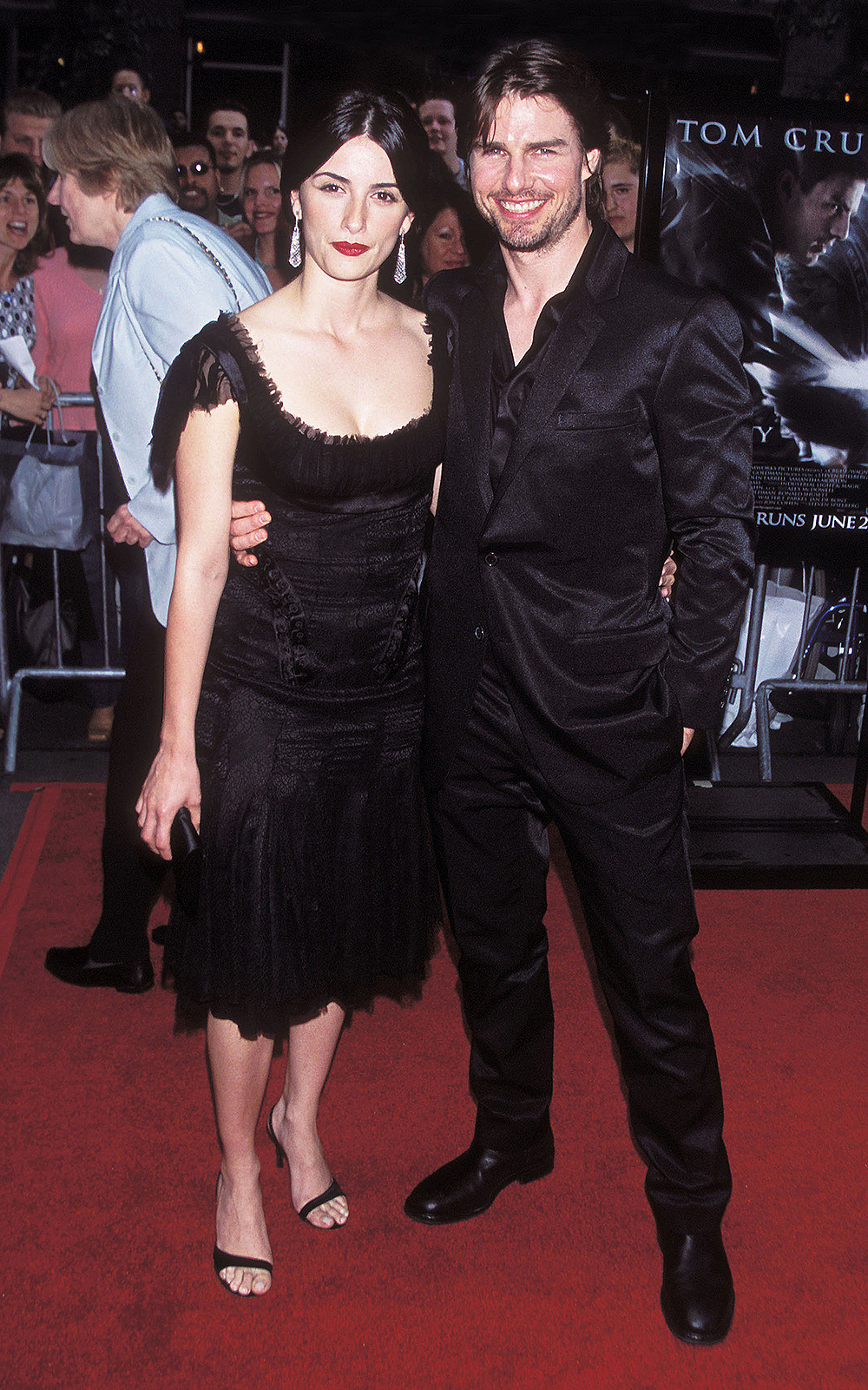 """Photo by: Henry Lamb/Photo Wire/STAR MAX, Inc. copyright 2002ALL RIGHTS RESERVED Telephone/Fax: (212) 995-1196 6/17/02 Tom Cruise and Penelope Cruz at the premiere of """"Minority Report"""". (NYC) (Star Max via AP Images)"""