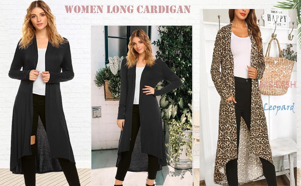 best long cardigan