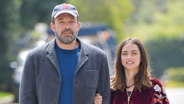 Ana de Armas Cardboard Cutout Gets Thrown In Trash Outside Ben Affleck's House After Split
