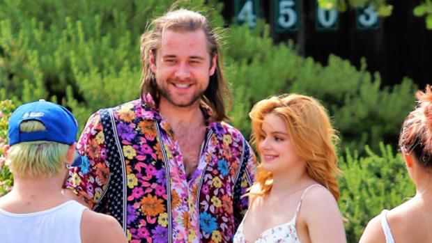 Luke Benward and Ariel Winter