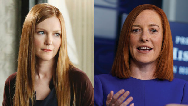 'Scandal' Fans Thinks Biden's White House Press Secretary Jen Psaki Looks Just Like Abby — See Pics