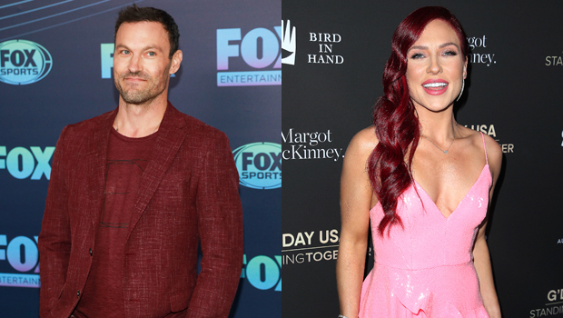 Brian Austin Green & Sharna Burgess Passionately Kiss As They Go IG Official With New Romance
