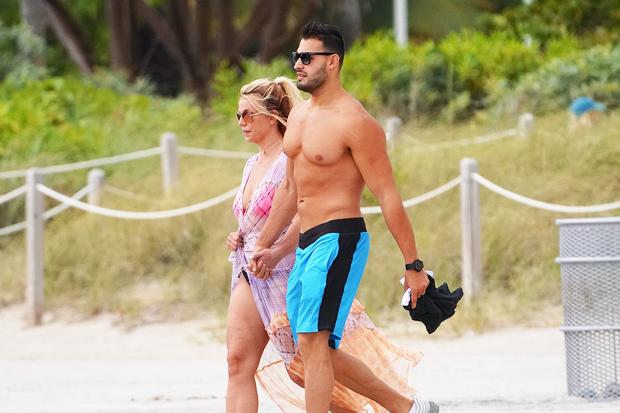 Britney Spears & boyfriend Sam Asghari