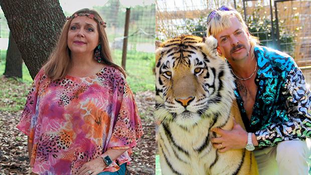 Carole Baskin and Joe Exotic