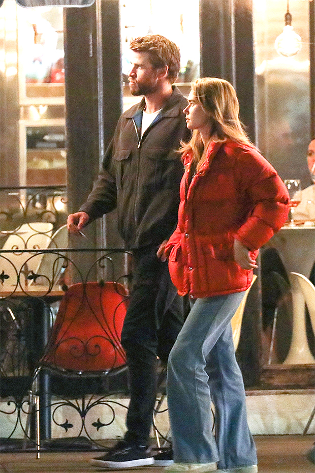 Liam Hemsworth & girlfriend Gabriella Brooks