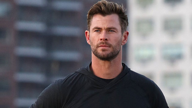 Chris Hemsworth Fans Joke You Can See His Abs 'From Space' After He Shares New Shirtless Pic