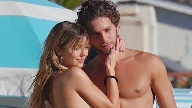 Delilah Hamlin, 22, Rocks Thong Bikini As She Makes Out With BF Eyal Booker, 25, At The Beach — See Pics