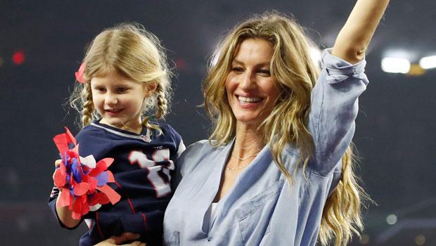 Gisele Bundchen and daughter Vivian Brady