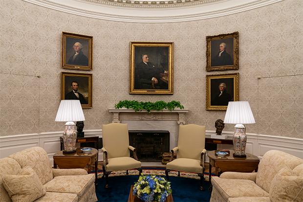 Joe Biden's Oval Office