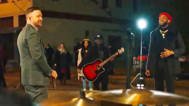 Justin Timberlake & Ant Clemons Usher In 'Better Days' On Memphis Streets For 'Celebrating America'