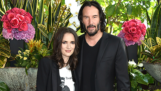 Keanu Reeves & Winona Ryder's Relationship Through The Years: A Timeline Of Their Bond