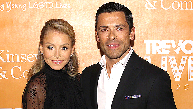 Kelly Ripa & Mark Consuelos Prove They Haven't Aged By Posting Throwback Pics With Their Kids
