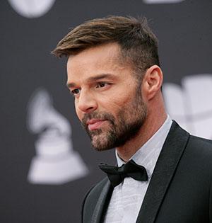 20th Annual Latin GRAMMY Awards - Arrivals. 14 Nov 2019 Pictured: Ricky Martin. Photo credit: JPA/AFF-USA.com / MEGA TheMegaAgency.com +1 888 505 6342 (Mega Agency TagID: MEGA550118_019.jpg) [Photo via Mega Agency]