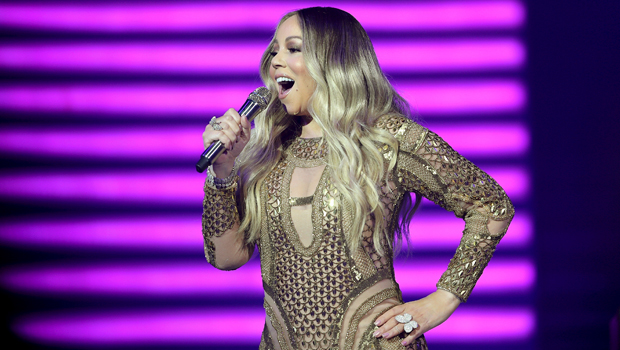 Mariah Carey Forgets The Words To 'Auld Lang Syne' While Singing To Fans On New Year's Eve 2021