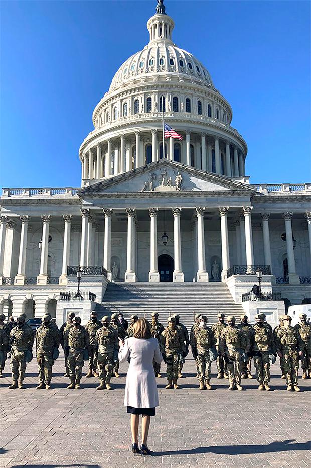 Nancy Pelosi TroopsA