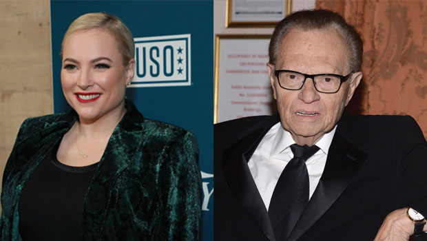 Meghan McCain & More Stars Mourn Larry King's Death: 'You Will Never Be Replaced'
