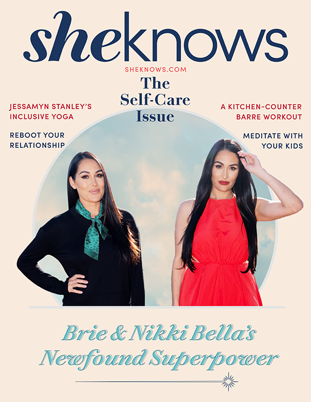 Nikki & Brie Bella SheKnows Digital Cover