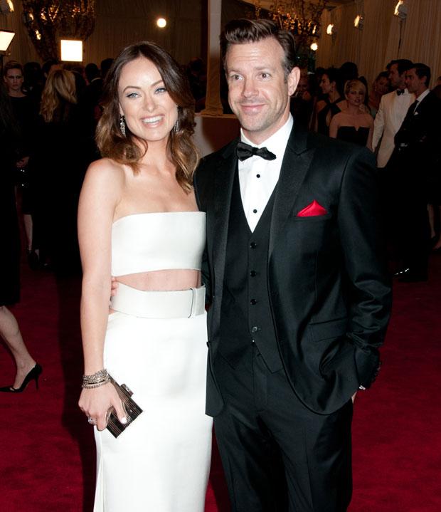 Olivia Wilde and Jason Sudekis