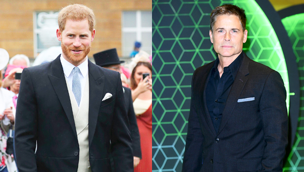 Prince Harry Appears To Be Sporting A Ponytail After Growing Out Hair, Neighbor Rob Lowe Claims