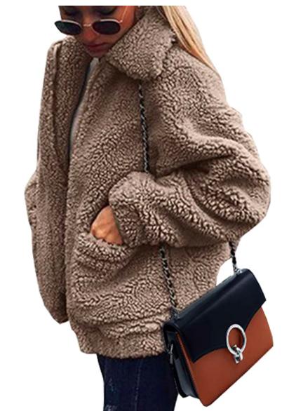 Women's Faux Shearling Coat