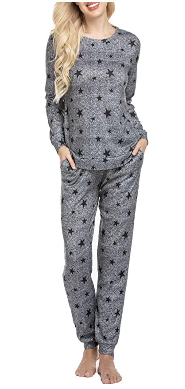 winter pajamas for women