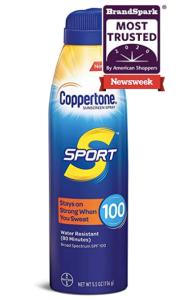 Coppertone SPORT waterproof sunscreen