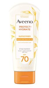 Aveeno Protect & Hydrate waterproof sunscreen