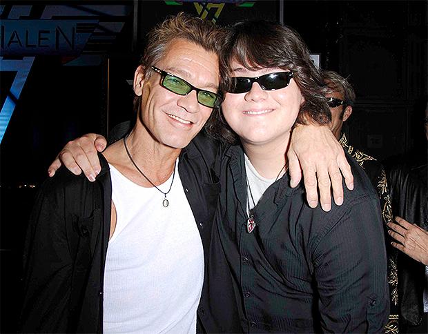 Eddie Van Halen & son Wolfgang Van Halen