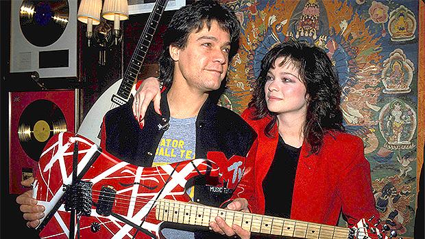 Valerie Bertinelli & Eddie Van Halen