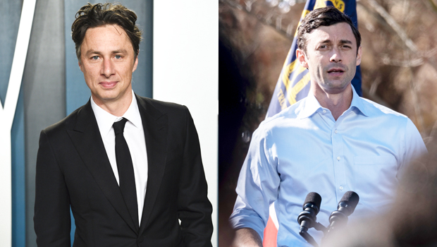 Zach Braff Volunteers To Play Georgia Democrat Jon Ossoff On 'SNL' & The Likeness Is Pretty Spot On