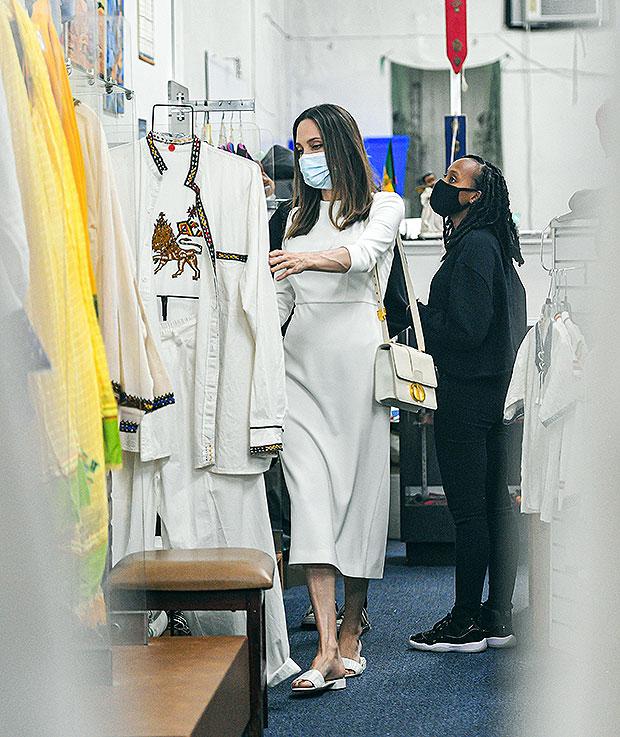 Angelina Jole, Zahara Jolie-Pitt, Shiloh Jolie-Pitt