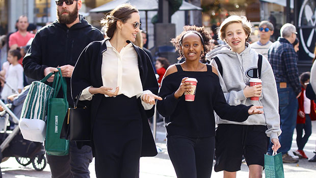 Angelina Jolie: Why She 'Loves' Bringing 'Normalcy' To Her Kids' Lives With Shopping Dates