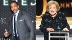 Anthony Mackie Betty White