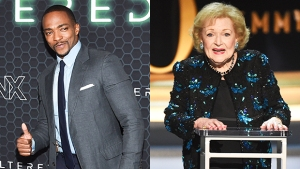 'Avengers' Star Anthony Mackie Reveals Betty White, 98, Tried To Shoot Her Shot With Him