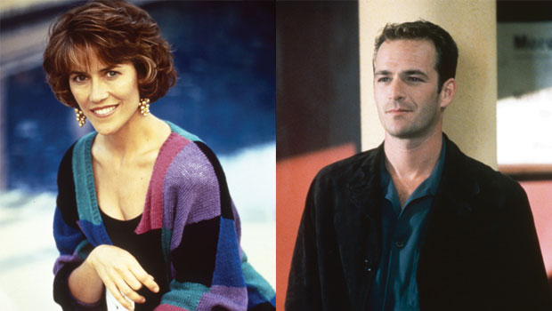 'Beverly Hills, 90210' Star Carol Potter Admits To Crushing On Luke Perry: 'We Would Flirt & Talk Dirty'