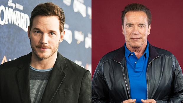 Chris Pratt, Arnold Schwarzenegger