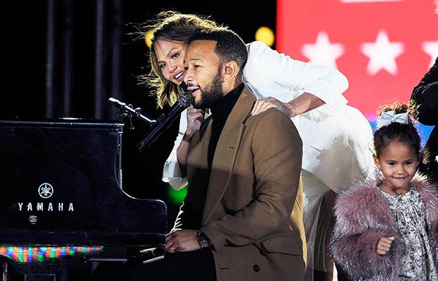 Chrissy Teigen & John Legend inauguration Day