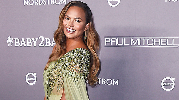 Chrissy Teigen Shows Off Her Bare Back To Reveal New Tattoo Along Her Spine — See Pic