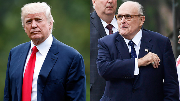 Donald Trump Rudy Giuliani
