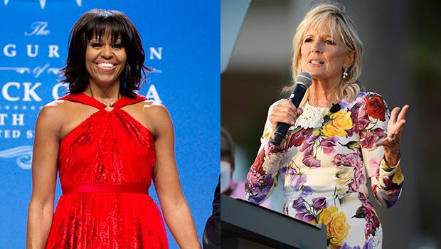 Michelle Obama Jill Biden