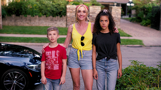 Brianne Howey, Antonia Gentry, and Diesel La Torraca