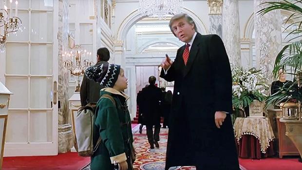 Macaulay Culkin, Donald Trump