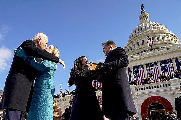 President Joe Biden & First Lady Dr. Jill Biden on Inauguration Day