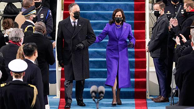 Kamala Harris on Inauguration Day