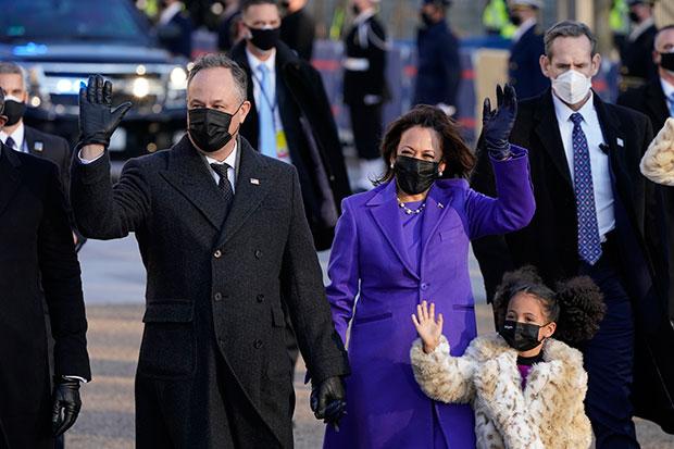 Doug Emhoff & wife Vice President Kamala Harris