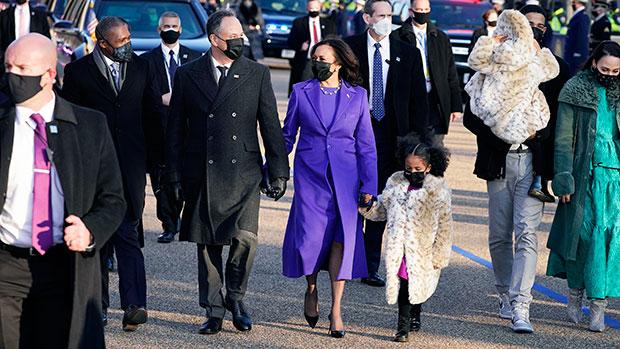 Kamala Harris & Doug Emhoff on Inauguration Day
