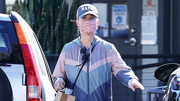 Katy Perry Goes Shopping In Rare Appearance 5 Mos. After Baby Daisy's Birth: See New Pics