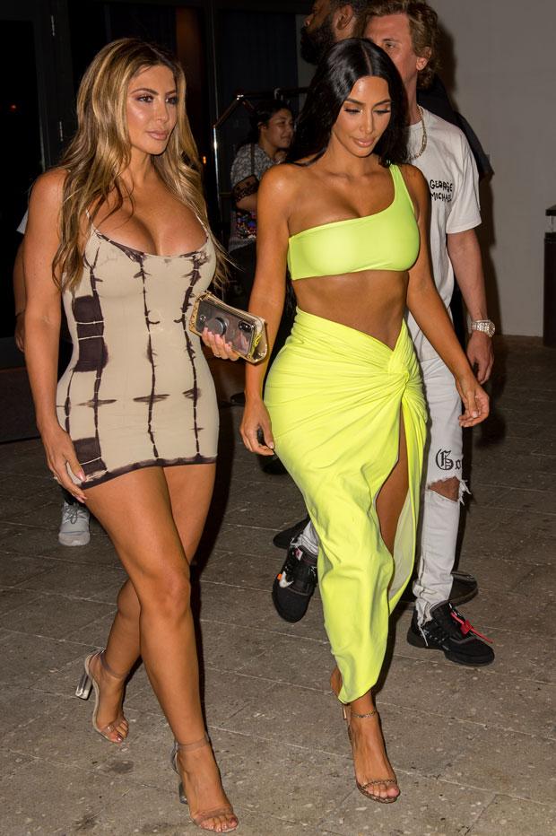 Larsa Pippen and Kim Kardashian